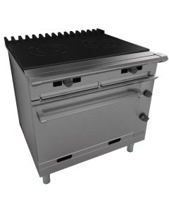 This is an image of a Falcon Chieftain Twin Bullseye Oven Range LPG (Direct)
