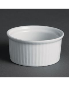 "This is an image of a Olympia Whiteware Ramekin - 69mm 2 34"" (Box 12)"