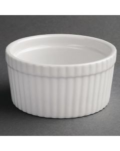 "This is an image of a Olympia Whiteware Souffle Dish - 128mm 5"" (Box 6)"
