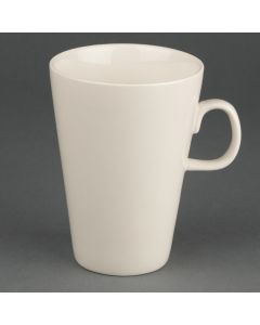 This is an image of a Olympia Latte Mug Ivory - 400ml 14oz (Box 12)