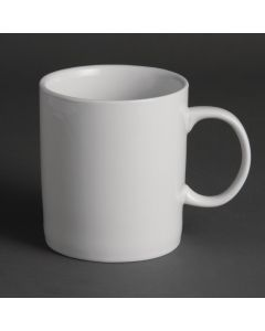 This is an image of a Olympia Large Mug White - 480ml 17oz (Box 12)