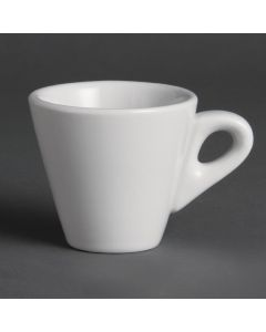 This is an image of a Olympia Espresso Cup White - 60ml 2oz (Box 12)