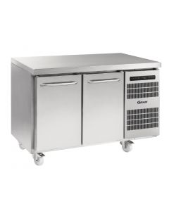 This is an image of a Gram Gastro 07 2 Door 345Ltr Counter Freezer F 1407 CSG A DLDR C2