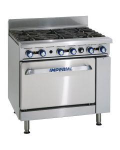 Imperial 6 Burner Propane Gas Oven Range IR6-P