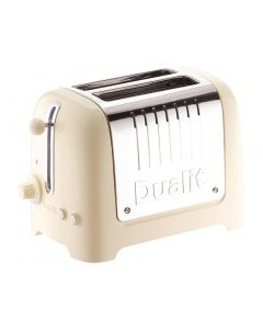 Dualit Lite Toaster 2 Slice Cream (B2B) (No Commercial Warranty)