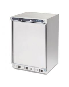 Polar Undercounter Freezer Stainless Steel 140Ltr