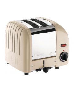 Dualit 2 Slice Vario Toaster Utility Cream 20247