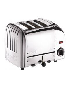 Dualit 3 Slice Vario Toaster Polished 30084