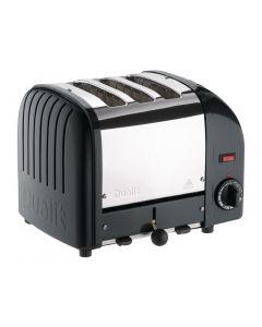 Dualit 3 Slice Vario Toaster Black 30076