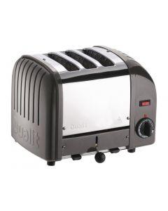 Dualit 3 Slice Vario Toaster Metallic Charcoal 30080