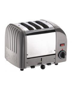 Dualit 3 Slice Vario Toaster Metallic Silver 30081