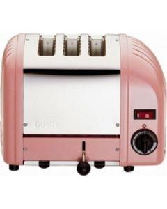 Dualit 3 Slice Vario Toaster Petal Pink 30083