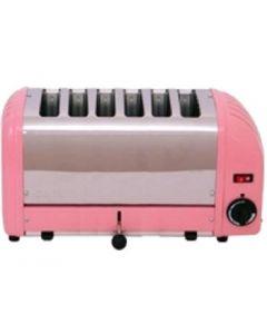 Dualit 6 Slice Vario Toaster Petal Pink 60162