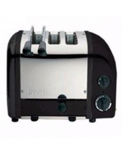 Dualit 2 + 1 Combi Vario 3 Slice Toaster Black 31205