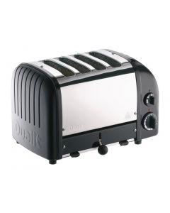 Dualit 2 x 2 Combi Vario 4 Slice Toaster Black 42166