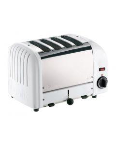 Dualit 2 x 2 Combi Vario 4 Slice Toaster White 42177