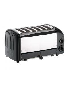Dualit Bun Toaster 6 Bun Black 61020