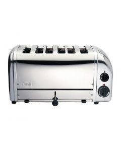Dualit Bun Toaster 6 Bun Metallic Silver 61028