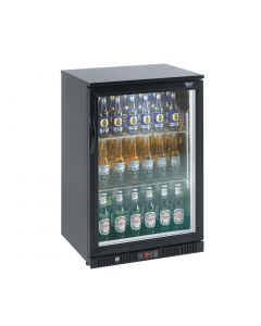 Lec Single Door Back Bar Cooler 108 Bottles