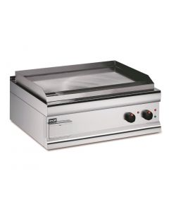 Lincat Silverlink 600 Machined Steel Electric Griddle Dual Zone 750mm Wide GS7/E