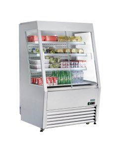 Polar Multideck with Lockable Sliding Doors