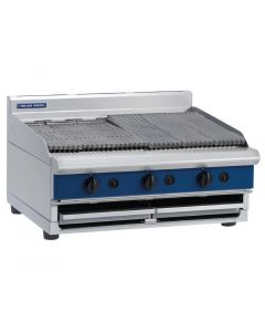 Blue Seal 900mm wide Chargrill Bench Natural Gas (Direct)