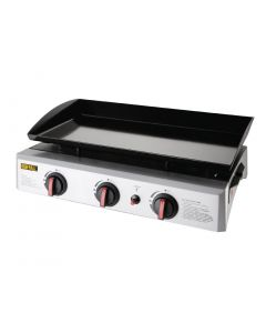 Buffalo Gas Griddle - 630x360mm cooking area 7.5kW - LPG