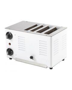 Rowlett Regent Thick n Thin Toaster White