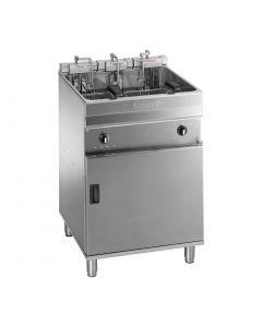 Valentine Evo 600P Freestanding Twin Basket Fryer with Filtration