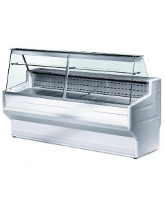 Zoin Hill Slimline Deli Serve Over Counter Chiller White 3000mm HL300B