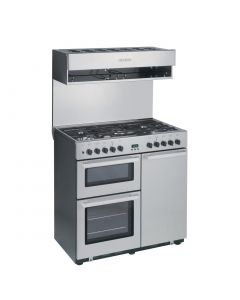 Burco Cook Centre 5 Burner Dual Fuel Range CC90DF
