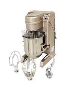 Hobart HSM10N Bench Mixer with Bowl Beater Whip and Hook - 10Ltr (Direct)