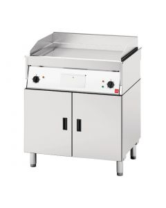 FriFri Chrome Griddle on Pedestal - 800mm (Direct)