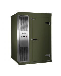Polar 1.2 x 1.5m Integral Walk In Freezer Room Green