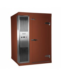 Polar 1.8 x 1.8m Integral Walk In Freezer Room Brown