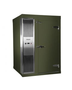 Polar 2.1 x 1.8m Integral Walk In Freezer Room Green