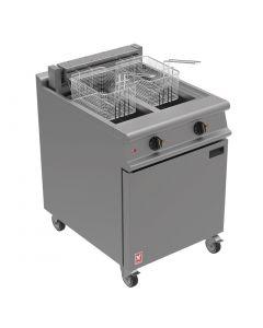 Falcon Dominator Plus Twin Pan Electric Fryer on Castors E3865