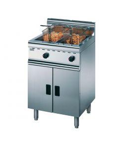 Lincat Silverlink 600 Free Standing Twin Natural Gas Fryer J10/N