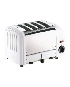 Dualit 4 Slice Vario Toaster White 40355