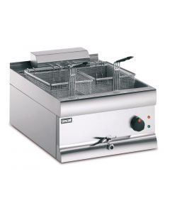 Lincat Electric Counter Top Fryer Single Tank 2 Baskets 6kW (Direct)
