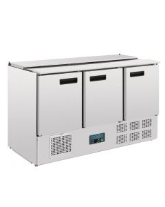 Polar Refrigerated Saladette Counter 368Ltr