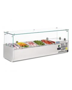 Polar Refrigerated Countertop Servery Prep Unit 5x 14GN