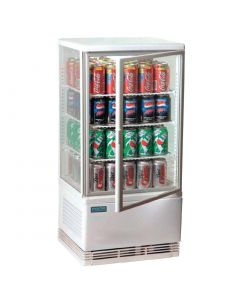 Polar Chilled Display Cabinet White 68 Ltr