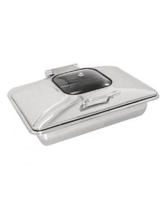 Olympia Induction Chafer 1/1 Glass Lid