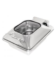 Olympia Induction Chafer 1/2 Glass Lid