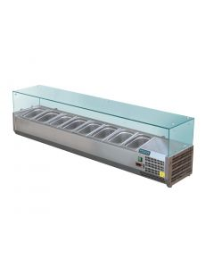 Polar Refrigerated Servery Topper 8x 13GN