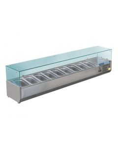 Polar Refrigerated Servery Topper 9x 13GN