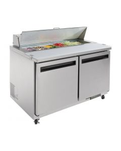 Polar 2 Door Preparation Counter 405Ltr