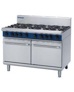 Blue Seal Evolution 8 Burner Double Static Oven LPG 1200mm G528D/L