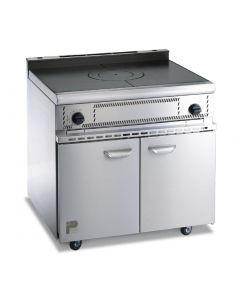 Parry Oven Range with Solid Top Natural Gas (Direct)